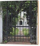 1851 Phillips House Mansion Wood Print by Ella Kaye Dickey