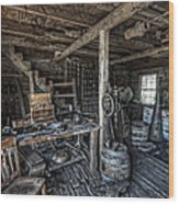 1860's Blacksmith Shop - Nevada City Ghost Town - Montana Wood Print