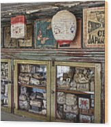 1860's Chinese Mercantile Shop - Montana Wood Print