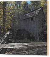 1868 Cable Mill At Cades Cove Tennessee Wood Print