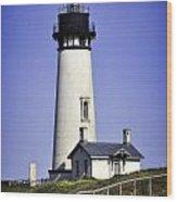 1872 Historic Lighthouse Wood Print