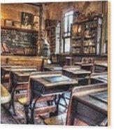 1879 School House - Knott's Berry Farm Wood Print