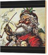 1881 Santa Wood Print