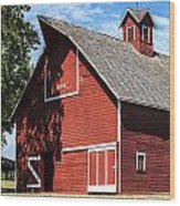 1896 Barn Wood Print