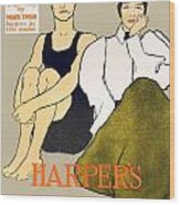 1897 - Harpers Magazine Poster - Color Wood Print