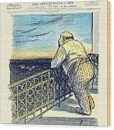 1897 - Le Rire Journal Humoristique Paraissant Le Samedi Magazine Cover - July 31 - Color Wood Print