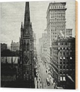 1898 Broadway New York City Wood Print