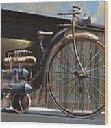 1898 Schwartze Fahrtencycle Wood Print