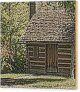 18th Century Wood Print by Heather Applegate