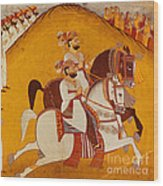 18th Century Indian Painting Wood Print