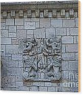 Ancient Spanish Monastery Wood Print