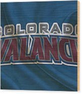 Colorado Avalanche Wood Print