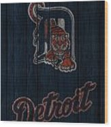 Detroit Tigers Wood Print