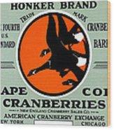 1900 Honker Cranberries Wood Print
