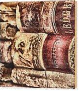 1900 Ledgers Wood Print by Nadine Lewis