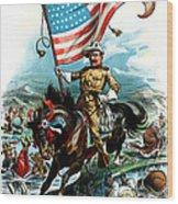 1902 Rough Rider Teddy Roosevelt Wood Print