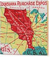 1904 Louisiana Purchase Exposition Wood Print