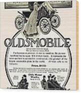 1904 - Oldsmobile Automobile Advertisement Wood Print