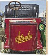 1905 Stanley Model E Wood Print