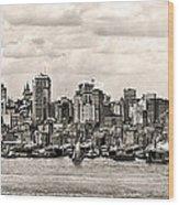 1906 Manhattan Panorama Wood Print