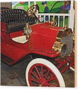 1908 Ford Model T Touring 5d25560 Wood Print by Wingsdomain Art and Photography