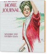 1909 - Ladies Home Journal Magazine Cover - November - Color Wood Print