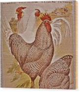 1909 California State Fair Poster Wood Print