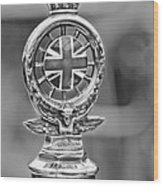 1909 Rolls-royce Silver Ghost Hood Ornament Wood Print