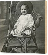 1910 American Tomboy Wood Print by Historic Image