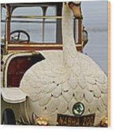 1910 Brooke Swan Car Wood Print by Jill Reger