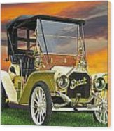 1910 Buick Roadster - Runabout Wood Print