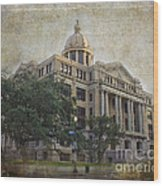 1910 Harris County Courthouse  Wood Print