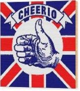 1910 Union Jack Cheerio Wood Print