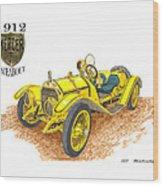 1911 1912 Mercer Raceabout R 35 Wood Print