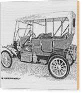 1911 Maxwell A B Wood Print