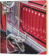 1912 Rolls-royce Silver Ghost Rothchild Et Fils Style Limousine Snake Horn -0711c Wood Print