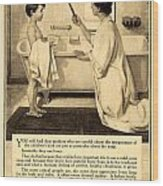 1913 - Proctor And Gamble - Ivory Soap Advertisement Wood Print