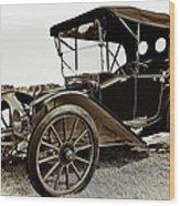 1913 Argo Electric Model B Roadster Coffee Wood Print