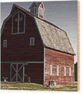 1913 Barn In Montana Wood Print