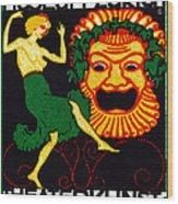1914 Zurich Theater Arts Festival Wood Print
