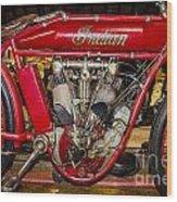1915 Indian Model D1 Wood Print