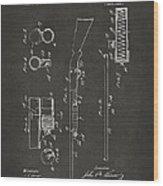 1915 Ithaca Shotgun Patent Gray Wood Print