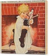 1917 - Modern Priscilla Magazine Cover - December Wood Print
