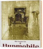 1918 - Hupmobile Automobile Advertisement - Color Wood Print