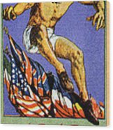 1919 Allied Games Poster Wood Print