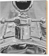 1920 Pierce-arrow Model 48 Coupe Hood Ornament - Motometer Wood Print