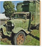 1920s Ford Moving Truck Wood Print