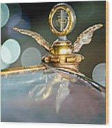 1921 Bentley Motometer Hood Ornament -0471c Wood Print