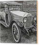 1921 Hudson-b-w Wood Print