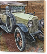 1921 Hudson-featured In Vehicle Enthusiasts And Comfortable Art And Photography And Textures Groups Wood Print